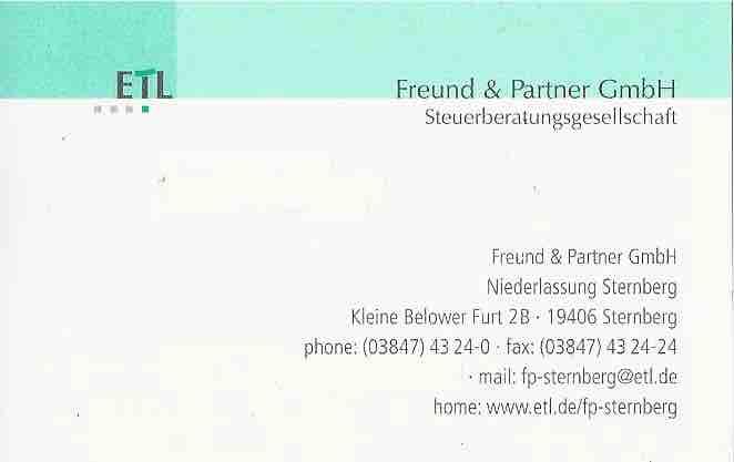 Freund und Partner